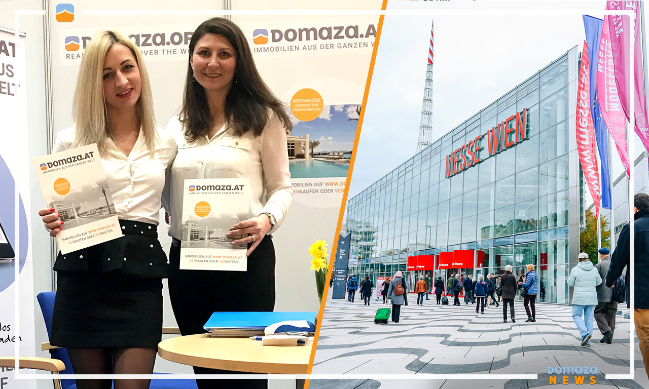 "One of the most successful international property projects – Domaza was promoted at the ""Wiener Immobilien Messe"" held in Austria this weekend."